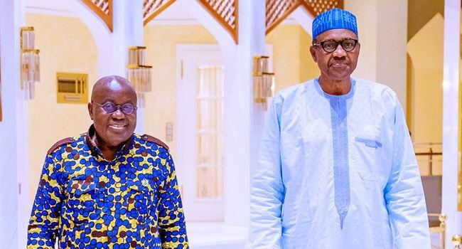 Buhari receives Ghanaian President, Akufo-Addo