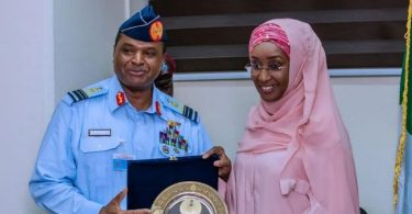 Chief of Air Staff reportedly marries Minister of Humanitarian Affairs