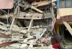 Three-storey school building collapses in Lagos