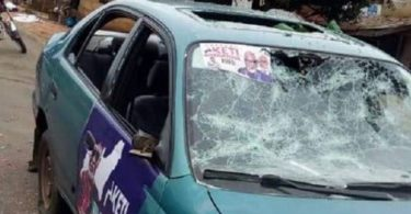 ONDO2020: Again, many injured, cars destroyed, as APC, PDP supporters clash