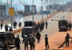 GUINEA: Internet, phone services cut off, as soldiers join police to deal with protests against President Condé