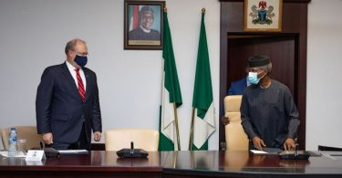 U.S officials visit Osinbajo, want those responsible for shooting at protesters held accountable