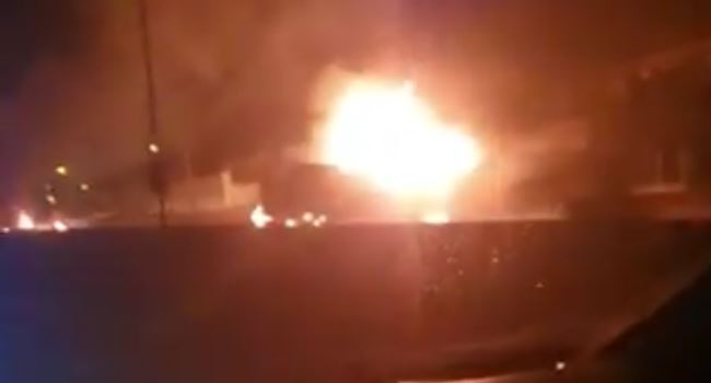 Two fuel tankers explode on Otedola bridge