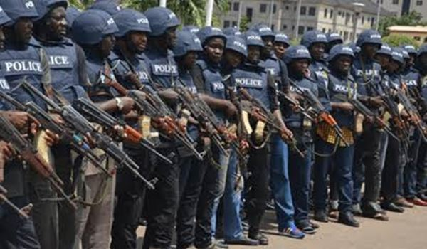 ONDO DECIDES: Police beef up security at INEC office