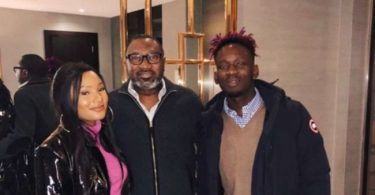 """When una Go Marry?"" Billionaire, Femi Otedola, asks daughter, Temi & singer Mr Eazi"