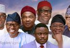 Governor of Lagos, Ogun, Osun, Imo, Rivers, Cross River, Kwara