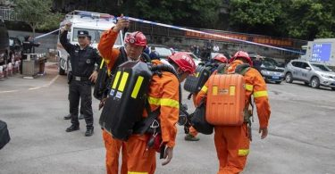 18 people feared killed, 6 others trapped in China coal mine collapse