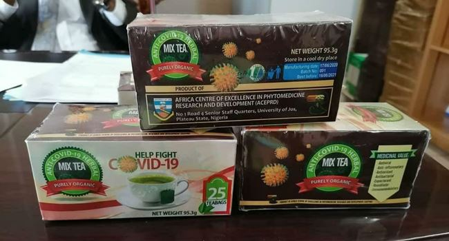 UNIJOS develops herbal tea for COVID-19 prevention