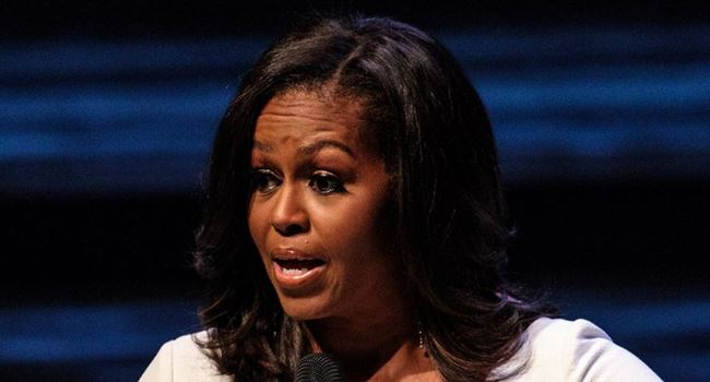 Michelle Obama blasts Trump, calls him unpatriotic American
