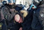 Supporters of jailed Kremlin critic, Navalny, clash with police in Russia