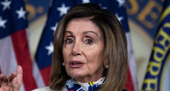 US House Speaker Pelosi insists Congress will proceed with Biden certification