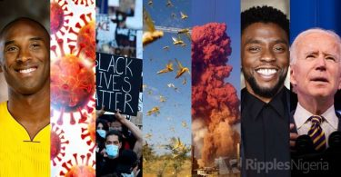 Year in review: 12 events that shook the world in 2020