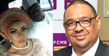 Woman in center of alleged infidelity scandal of FCMB MD, Moyo, speaks up on paternity of her kids