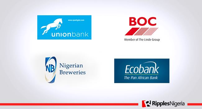 Nigerian Breweries, Ecobank, BOCGAS, Union Bank make Ripples Nigeria stocks-to-watch list