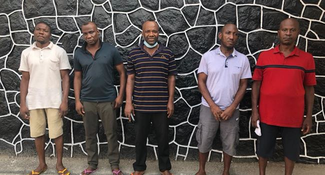 EFCC arrests five for $257,822 credit card fraud