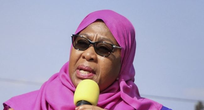 Samia Suluhu sworn in as Tanzania's first female president