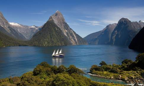 Fiordland National Park. Milford Sound, New Zealand