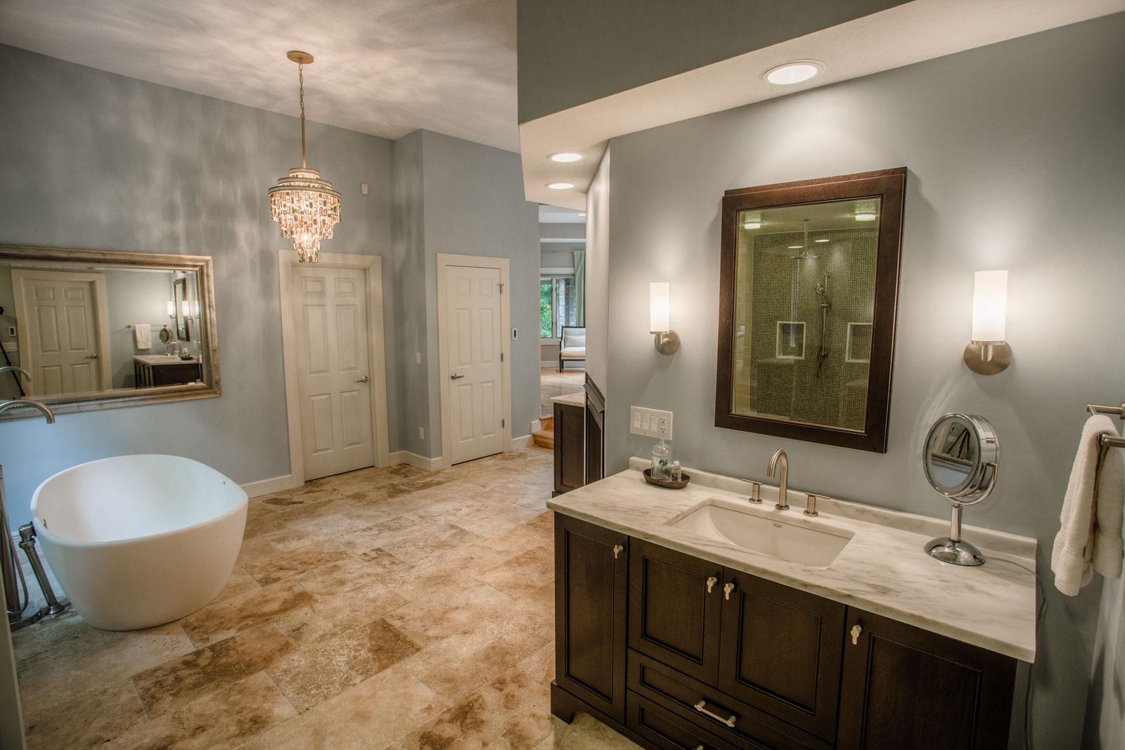 Eisenhower Transitional Bathroom Remodel Riverside