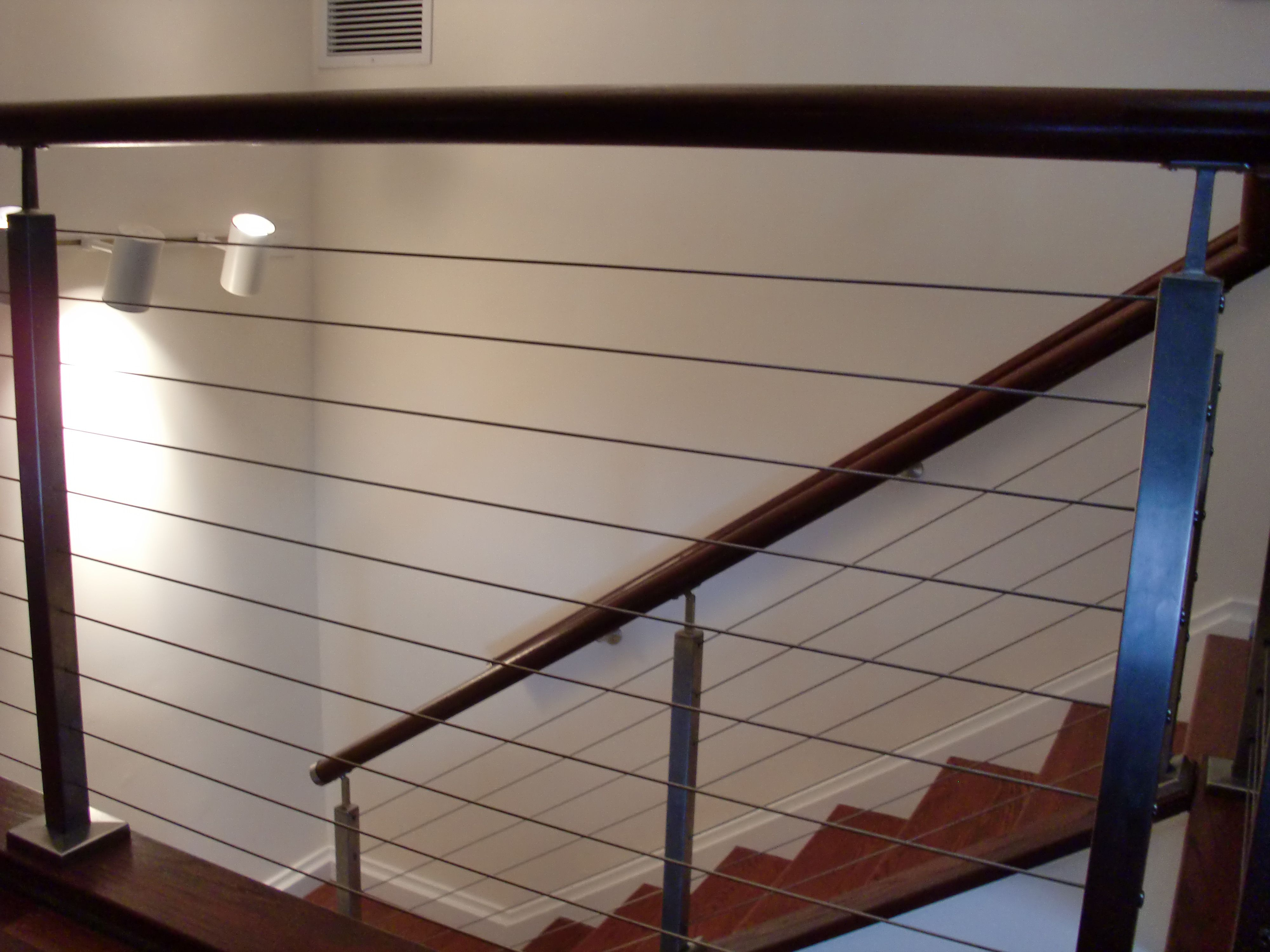 Interior Cable Railing In Norwalk Ct Riverside Fence