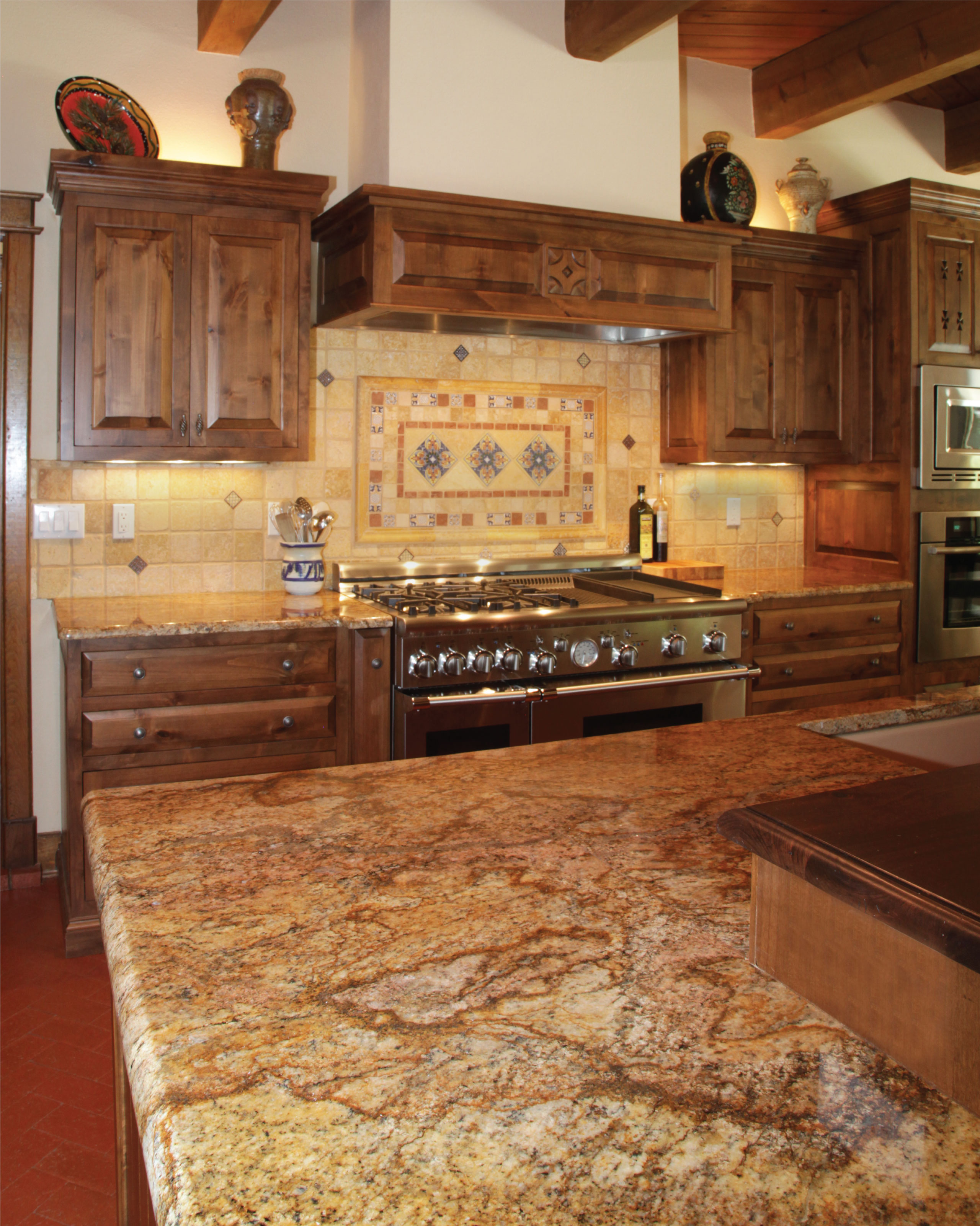 Featured Project Copper Canyon Granite Kitchen