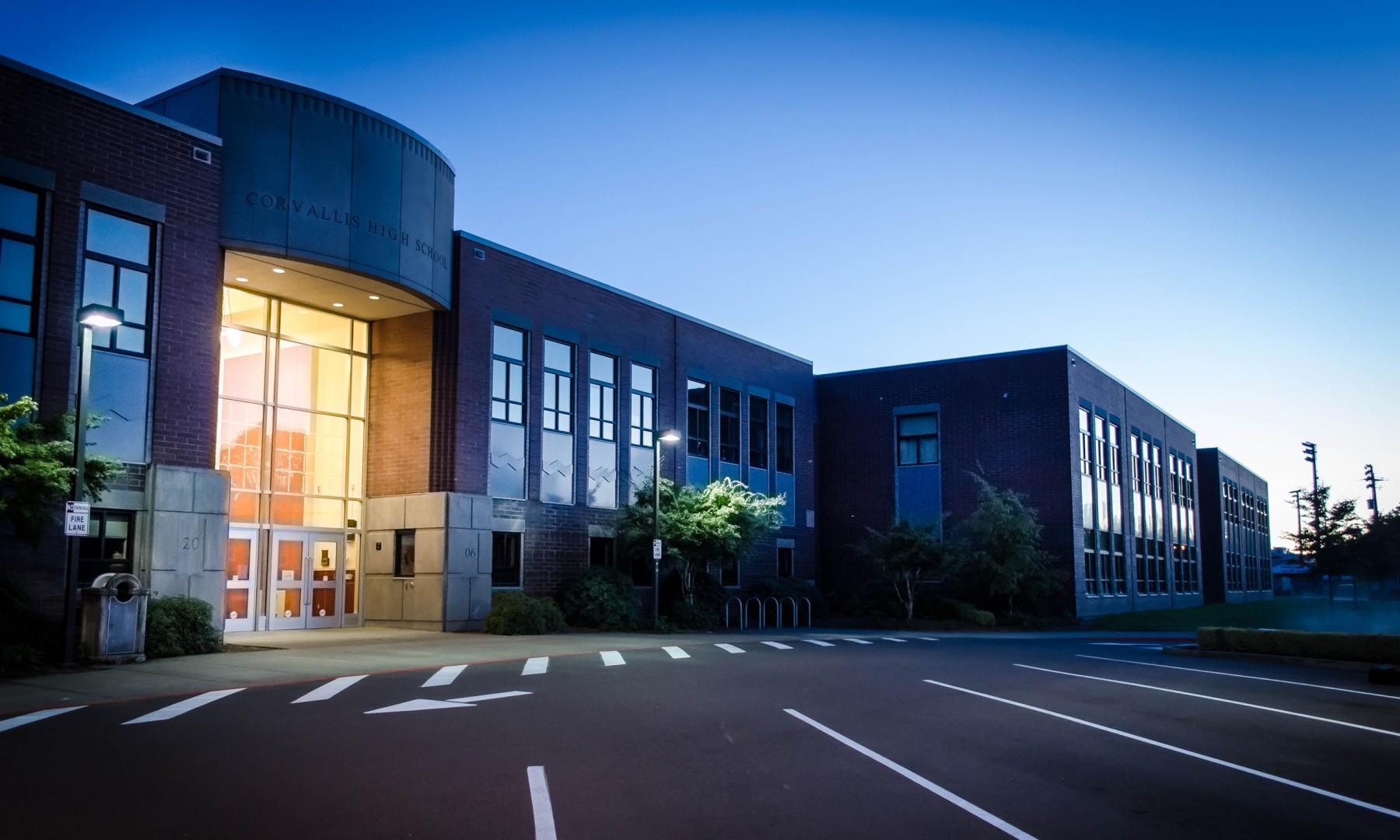 Corvallis High School Robinson Construction Co