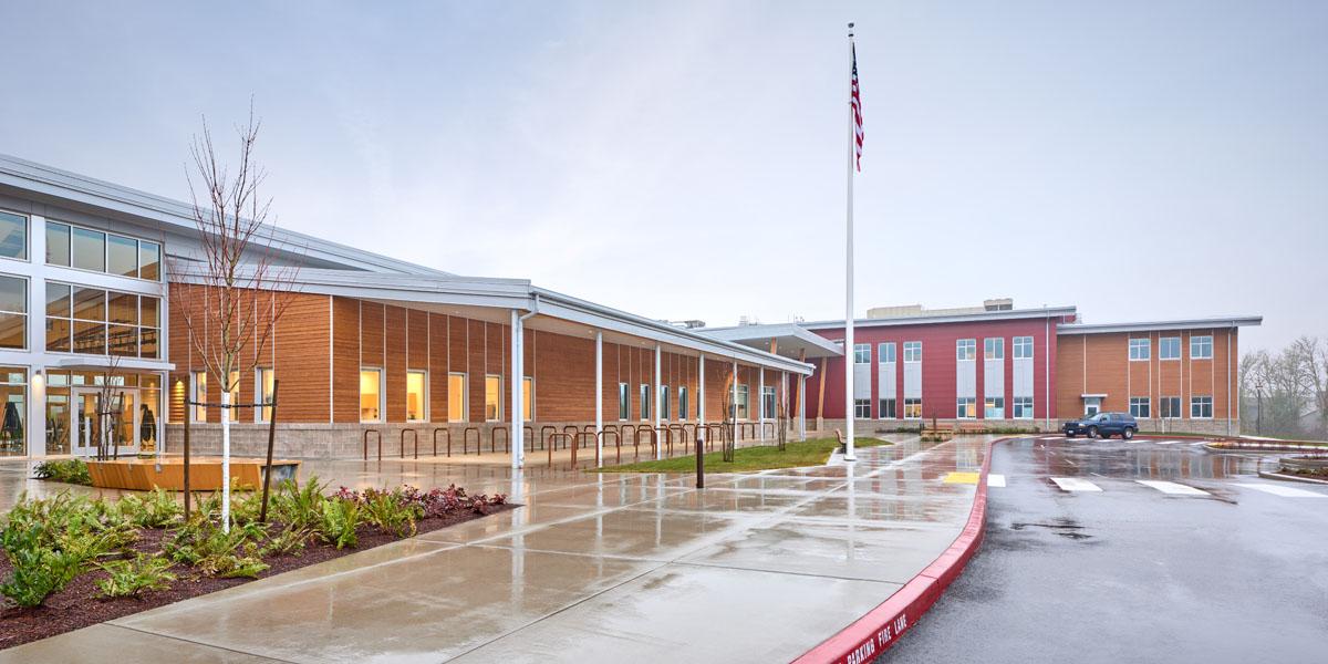 Meridian Creek Middle School Robinson Construction Co