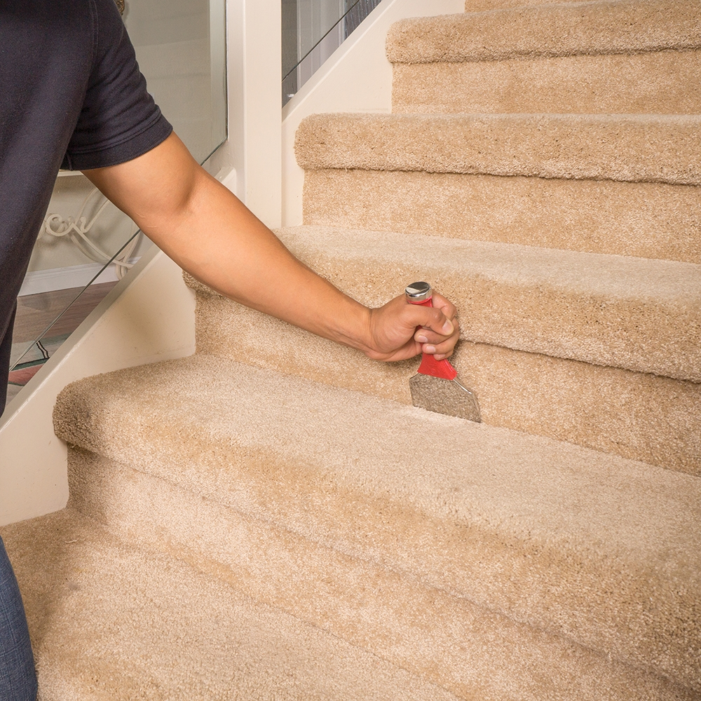 Extra Wide Stair Tool Roberts Consolidated | Heavy Duty Stair Carpet | Thick Heavy | Stair Treads Carpet | Double Sided | Wool Carpet | Indoor Outdoor Carpet