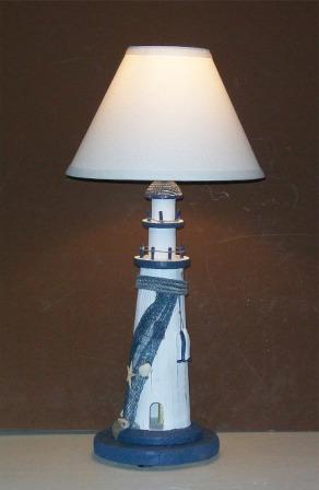 Robin S Dockside Shop Nautical Lighthouse Table Lamp