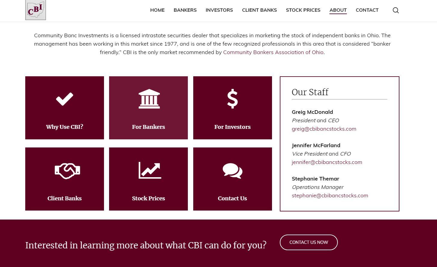 Ohio Bci Website