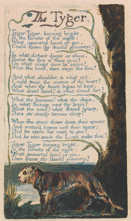 William Blake An Immortal Hand University Of Rochester