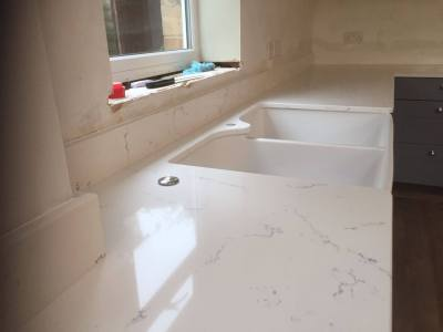 Carrara White Quartz - Rock and Co Granite Ltd