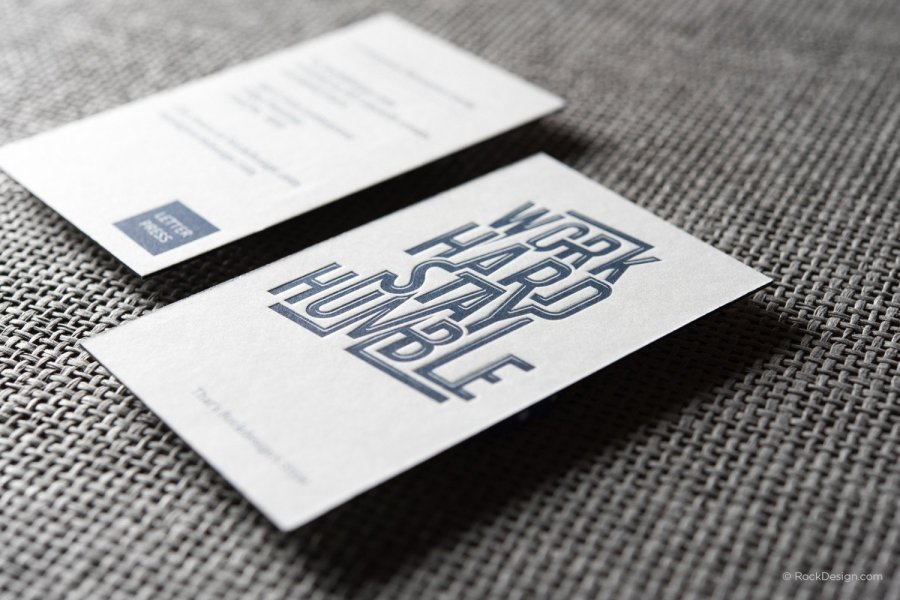 Letterpress Business Cards Letterpress Name Cards Design 11