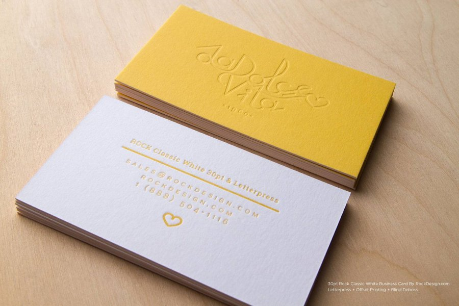 Letterpress Business Cards Letterpress Name Cards Design 8