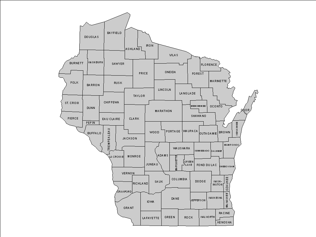 Waukesha County Plat Map