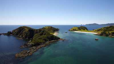 Bay of Islands Cruises from Paihia | The Rock Overnight ...