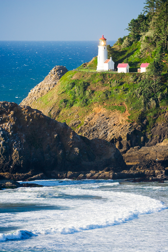 Heceta Head Lighthouse Photograph Oregon Photo