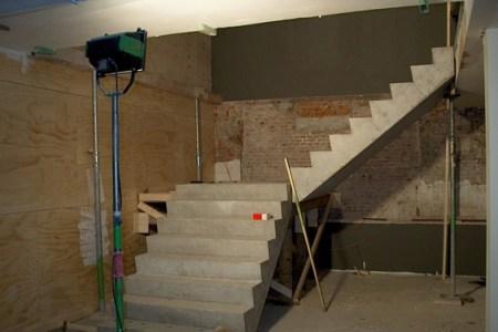 Prefab betonnen trap. gallery of prefab betonnen trappen en loopbrug