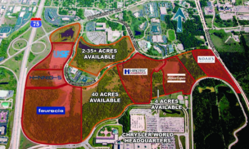 Land Available For Sale   2   200 Acres High Meadow Circle  Auburn     Land Available For Sale   2   200 Acres High Meadow Circle  Auburn Hills   MI 48326   Rofo