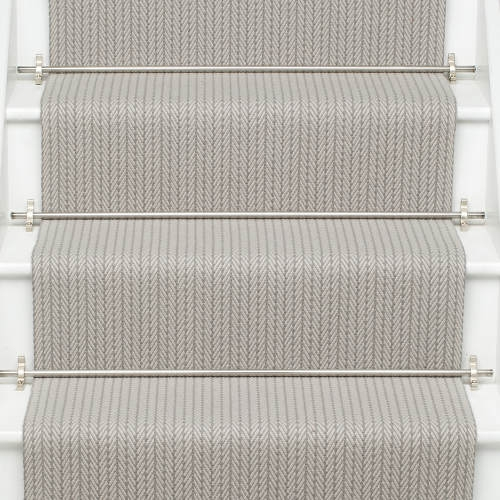 Products Runners For Stairs And Halls Neutral Fulham Quartz   Roger Oates Stair Runners   Wooden   Wood Staircase Carpet   Corner   Pinterest   Carpet