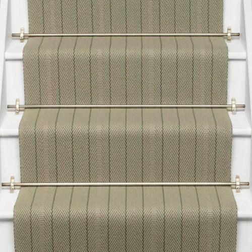 Flatweave Runners Roger Oates Design Runners And Rugs   Tweed Carpet For Stairs   Adam   Modern   Mustard   Hard Wearing   Wool