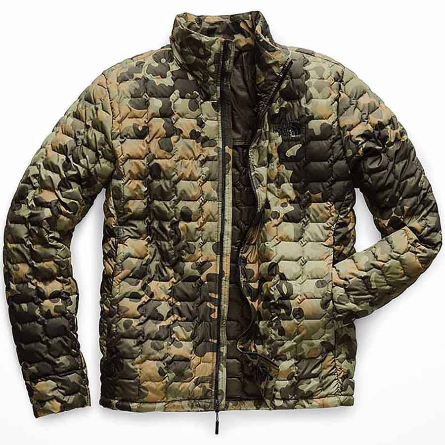 The North Face Men S Thermoball Jacket Taupe Green