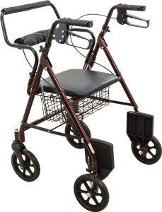 rollator transport chair walker