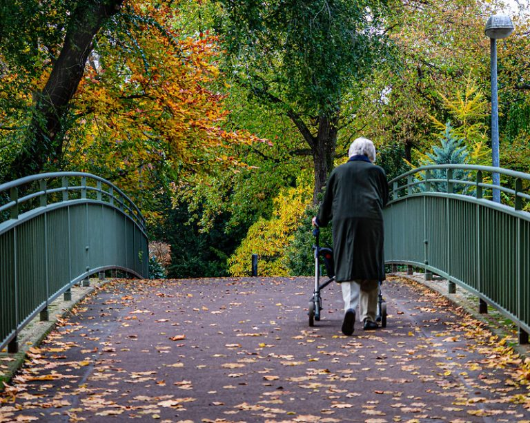how to choose the best rollator for an older person