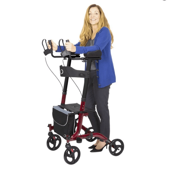 what is an upright walker and why are they better than a standar walker?