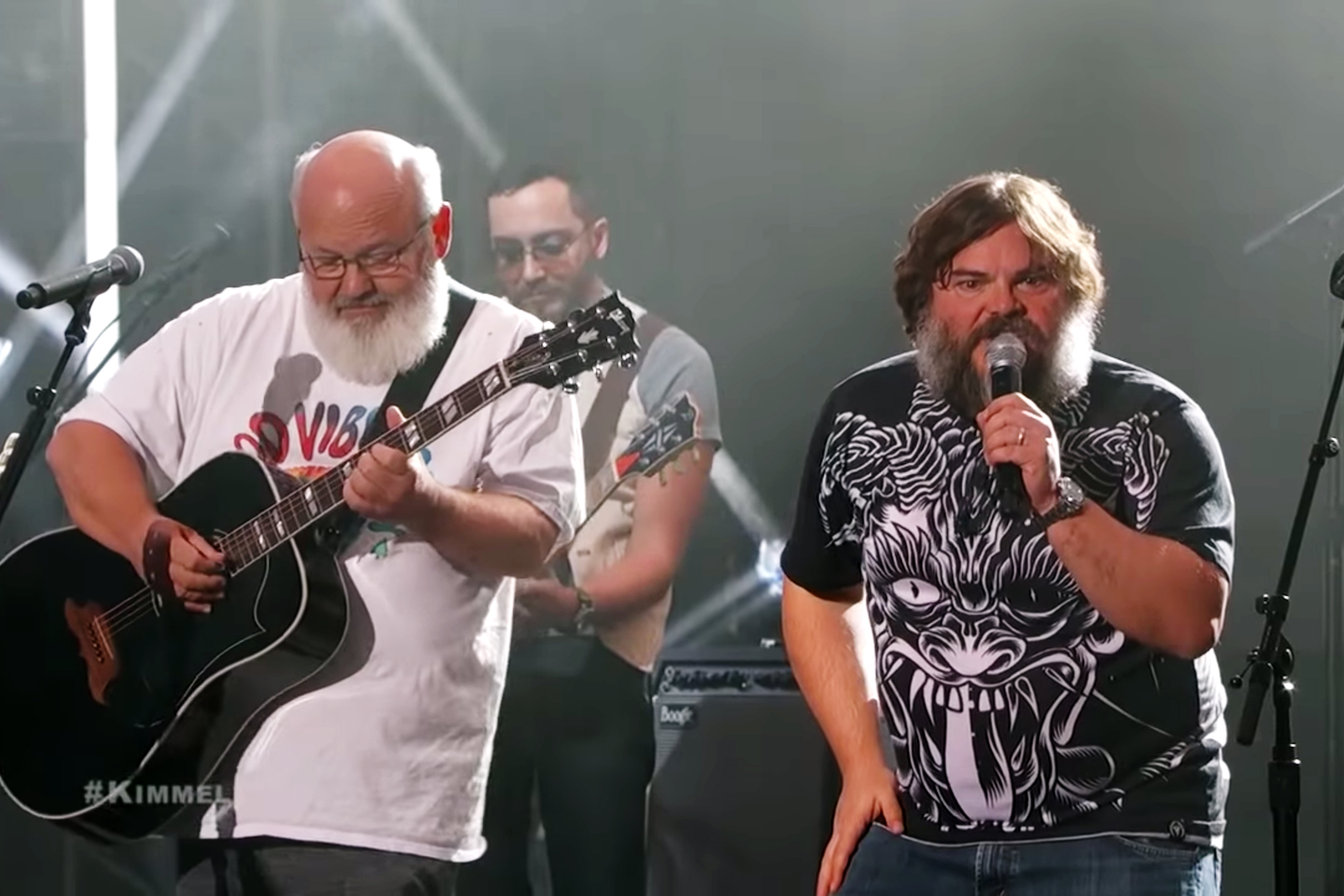 See Tenacious D Bring 'Post-Apocalypto' Songs to 'Kimmel ...