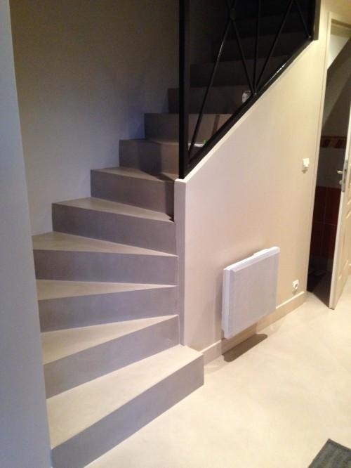 Escalier En B 233 Ton Romain Serve