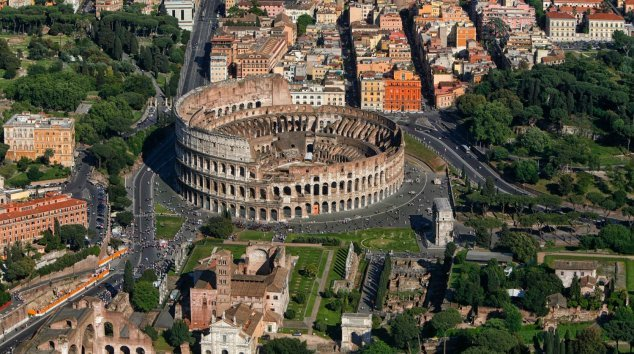 Colosseum, Roman Forum, Palatine Hill and Carcer Tullianum ...