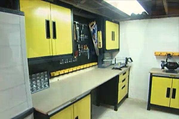 How To Make A Basement Workshop Ron Hazelton