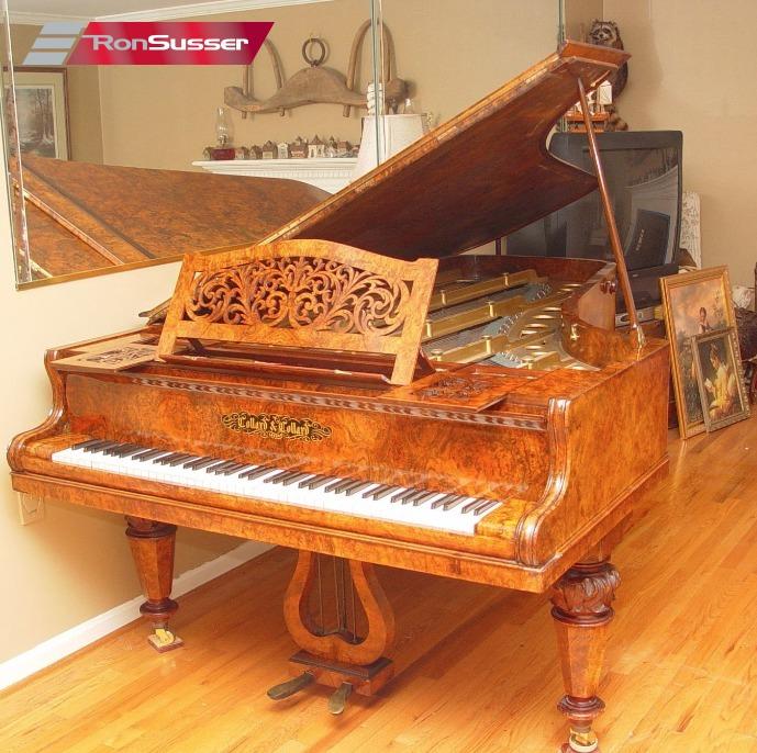 Collard Amp Collard Vintage Rare 19th Century Concert Grand