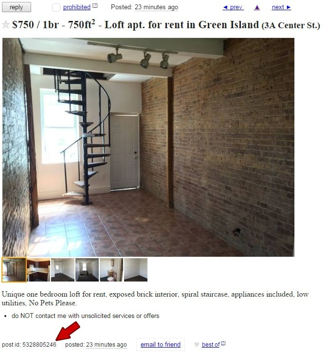 Renters Beware Craigslist Red Flags Roohan Realty | Used Spiral Staircase For Sale Craigslist | Metal | Ladder | Wood | Staircase Kits | Argus Brewery